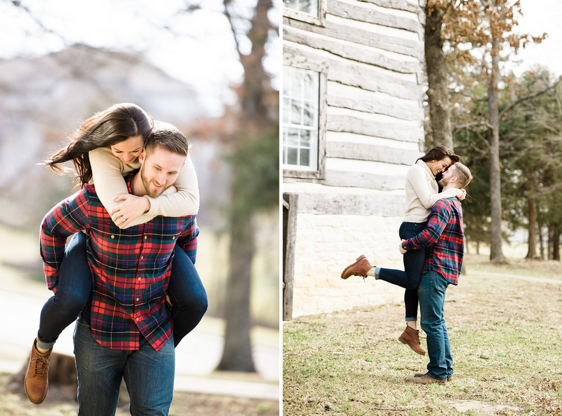 Wedding-Photographer-Lindsey-Pantaleo-Engagement-Shoot-Jefferson-City-Missouri-River-Access (1)