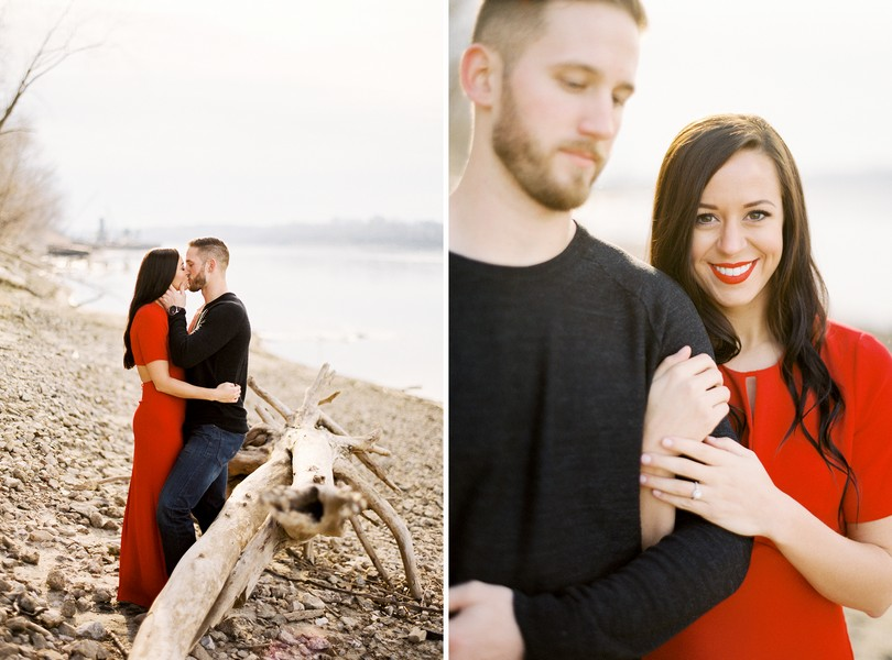 Wedding-Photographer-Lindsey-Pantaleo-Engagement-Shoot-Jefferson-City-Missouri-River-Access (15)