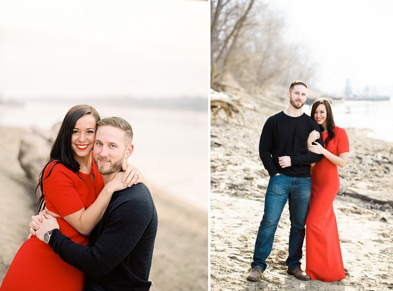 Wedding-Photographer-Lindsey-Pantaleo-Engagement-Shoot-Jefferson-City-Missouri-River-Access (16)